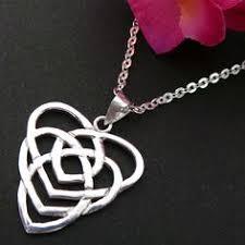 celtic motherhood knot jewelry necklace by yhtanaff on