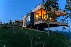 plans hill side house plans steep hillside slope design ideas home sloped designs
