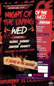 Halloween Wedding Invitations Halloween Wedding Invitations Wedfest