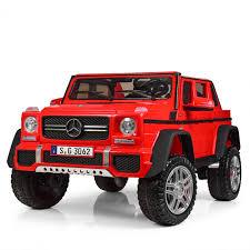 <b>Электромобиль Barty Mercedes-Maybach G650</b> красный глянец ...