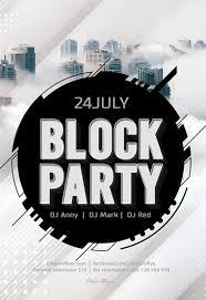 Block Party Flyer Block Party By Elegantflyer