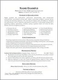 Example Of Best Customer Service Customer Service Skills Resume Thrifdecorblog Com
