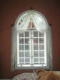 In Our House The Baby Has The Prettiest Room She Has A Huge Semi Circle Window Blinds