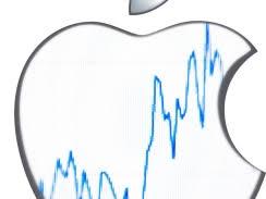 apple, stock, accion apple