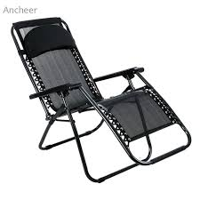 New Fishing Chairs Folding Adjustable Oversized Zero Gravity Outdoor Lounge Chair For