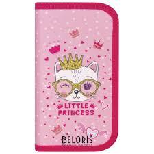 <b>Пенал</b> 2 отделения 19х11 см <b>Little</b> Princess (<b>Юнландия</b>) купить в ...