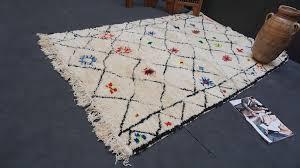 berber teppish azilal rug 5x7 boho vintage moroccan berber azilal tribal rug kilim teppich tapis
