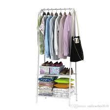 Coat Rack With Storage Space Custom 32 Space Saving Hanger Living Room Clothes Storage Rack Home Coat