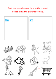 These are geared towards a 2nd grade spelling level, but can be used for any kids that are at working on spelling with long e and ey words. Jolly Phonics Sorting Ea And Ey Words Teaching Resources