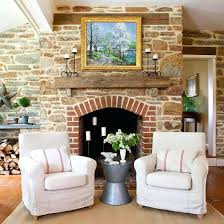 brick fireplace wall decorating ideas fresh best decor images on mantel fireplac