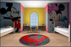 boy and girl shared bedroom