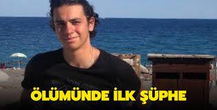 Kaçan kurbanlığın peşinden gidip ölü bulunan Onur Alp Eker'in ölümünde ilk  şüphe