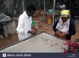 Flower Pressed Paper Fianarantsoa Madagascar Family Business Making Handmade