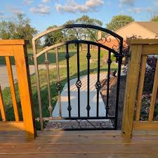 solid metal garden gates uk