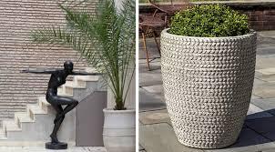 modern urn garden bronze garden bronze