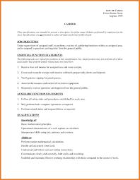 4 5 Resume Job Description Imageresume