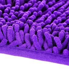 dark purple bathroom rugs purple bathroom rugs dark purple chenille bath mat bath rug soft in