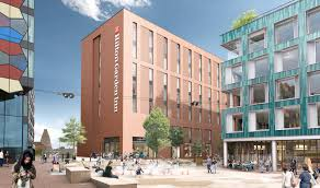 work to build a hilton garden inn hotel in stoke on t city centre is set to start