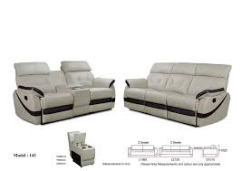 giovanna marie recliner sofa 2 3 seater leather sofa