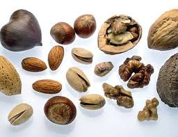 Low Fat Nuts Chart Nut Nutritional Side By Side Comparison Chart
