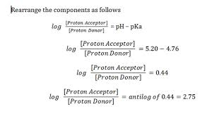 Henderson Hasselbalch Solved Problems Henderson Hasselbalch Equation Ph Pka