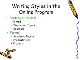 academic writing carol m allen writing styles in the  2 academic writing carol m allen 2007