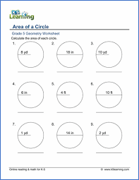 angles in a circle worksheet. grade 5 geometry worksheet area of circles angles in a circle