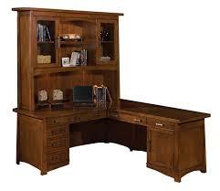 sligh bungalow l desk with hutch
