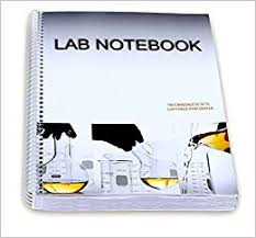 Barbakam Lab Notebook 100 Carbonless Pages Spiral Bound Copy Page