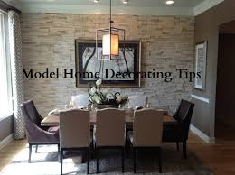 Small Picture Model Home Decorating Tips YouTube