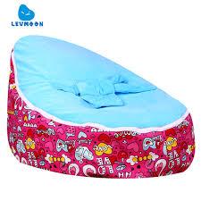 Levmoon Medium Swan Lover Bean Bag Chair Kids Bed For Sleeping Portable  Folding Child Seat Sofa