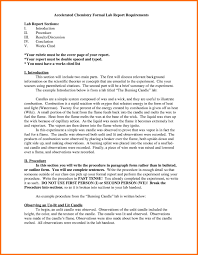 Example Of A Lab Report Lab Report Introduction Sample Askoverflow