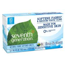 How Much Fabric Softener To Use Amazoncom Seventh Generation Fabric Softener Sheets Free And