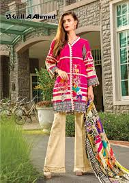 Salwar Kameez Designs Catalogue Free Download Gul Ahmed Lawn Vol 2 Printed Salwar Suit Catalogue