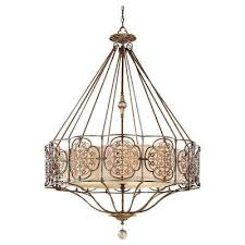 marcella 4 light british bronze oxidized bronze uplight chandelier shade