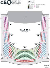 Seating Charts Cso