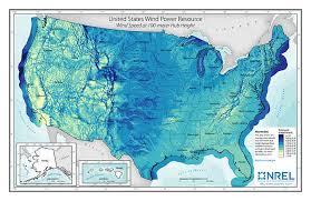 Wind Maps Geospatial Data Science Nrel