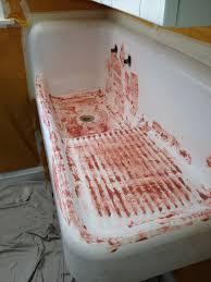 Antique Kitchen Sink Repair - Reglaze kitchen sink