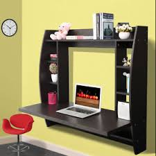 home office computer furniture. Home Office Computer Table Floating Wall Mount Desk With Storage Shelves Bedroom Furniture
