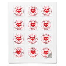 <b>Наклейки квадратные 5</b>×<b>5</b> см сердце #2473665 – заказать ...