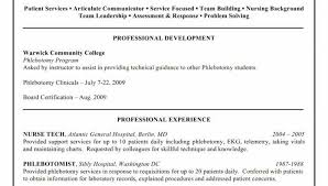 Phlebotomist Resume Mesmerizing Entry Level Phlebotomy Resume Fresh Entry Level Phlebotomy Resume