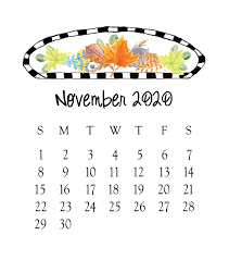 November 2020 Calendar Clip Art 2019 Jewel Case Calendar Buy 12 Get A 13th For Free