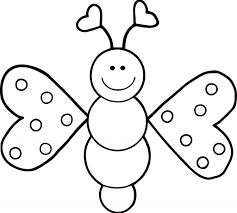 The Very Hungry Caterpillar Coloring Pages Tulip Sheete Butterfly