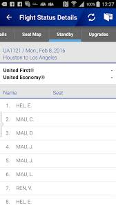 United Standby List Flight Loads How To Check Airport