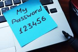 Image result for commonly used passwords