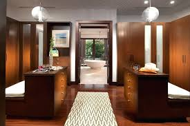 walk in closet with island a contemporary master closet design for him and for her walk walk in closet with island