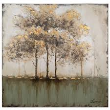 canvas wall art trees