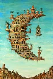 dali i d like to live in the crescent moon