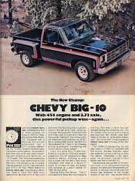 1977 Chevy Big 10 Stepside with 454 engine | old Chevy's ...