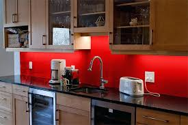 red tile backsplash amusing kitchen photos design ideas and blue glass